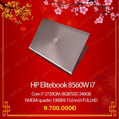 HP Elitebook 8560W i7